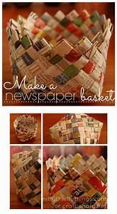 Körbchen Basteln Mit Kindern : paper basket make a newspaper basket k rbchen papier ~ Lizthompson.info Haus und Dekorationen