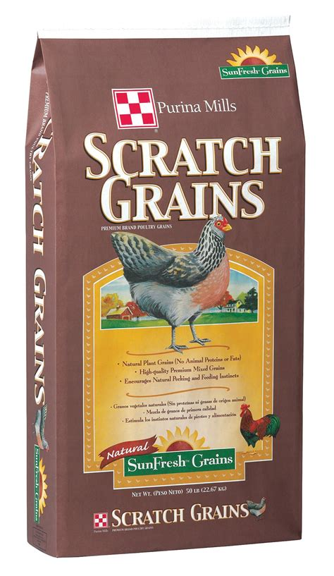 purina scratch grains  lb