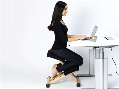 used ergonomic kneeling office chair varier multi balans kneeling chair