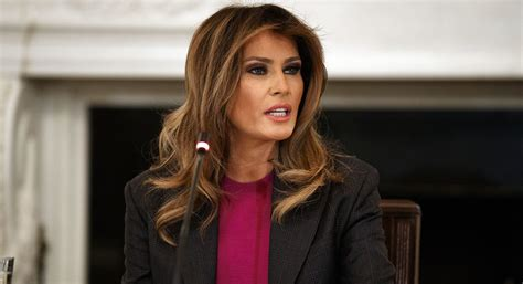 Trump: First lady is 'great' but cannot fly for a month