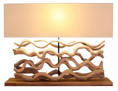 luminaire design en bois flott 233 pour une d 233 coration originale