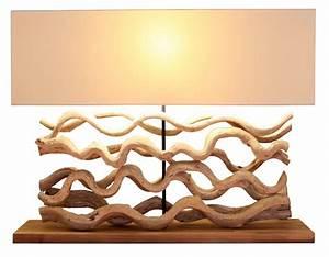 Lampe Design Bois : luminaire design en bois flott pour une d coration originale ~ Teatrodelosmanantiales.com Idées de Décoration