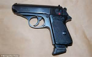 Guns seized from London home | Daily Mail Online