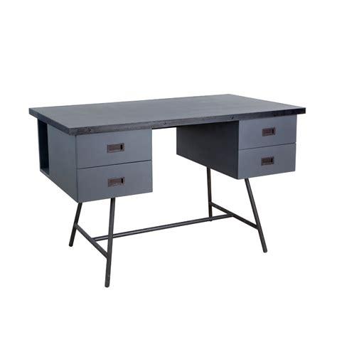 bureau gris bureau l50 gris souris laurette pour chambre enfant les