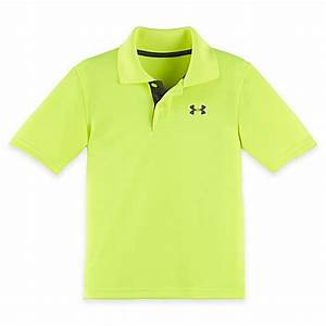 Under Armour Polo Shirt in Neon Yellow