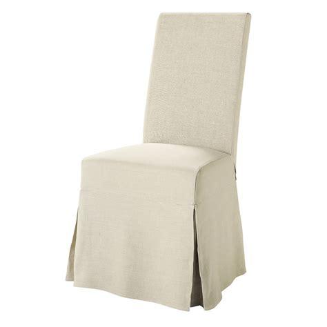 chaise margaux maison du monde housse longue de chaise en margaux maisons du monde