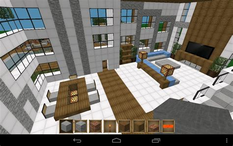 how to make an awesome living room in minecraft pe