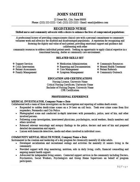 Registered Resume Template by Registered Resume Template Premium Resume Sles