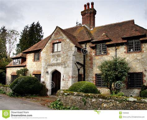 Mittelalterliches Dorfhaus Stockbild  Bild Von Kamin