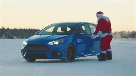 Ford Focus Drift by Santa Claus Drift A Ford Focus Rs Top Gear