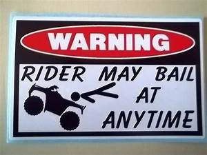 funny four-whee... Atv Motocross Quotes