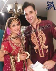 Sajal Ali Wedding Pics with Husband