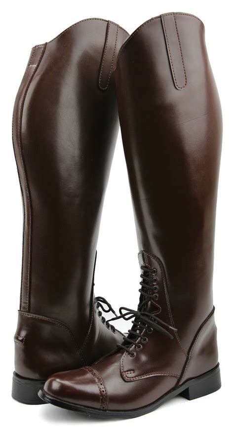 boots riding english field horse equestrian ladies pull tall mens hispar shoes boot grandeur leather rubber hand soft