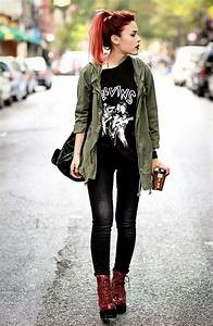 Hipster Girl Outfits on Pinterest | Homecoming Dresses Sleeves Cute Hipster Outfits and ...