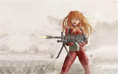 Asuka Langley Soryu Anime Evangelion Wallpapers Neon