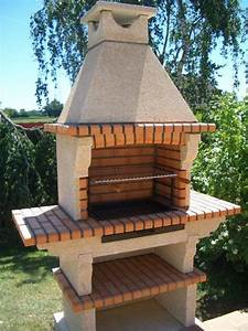 Barbecue En Pierre Mr Bricolage : barbecue imitation pierre ~ Dallasstarsshop.com Idées de Décoration