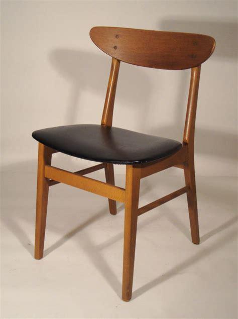 chaise danoise chaise bois vintage images