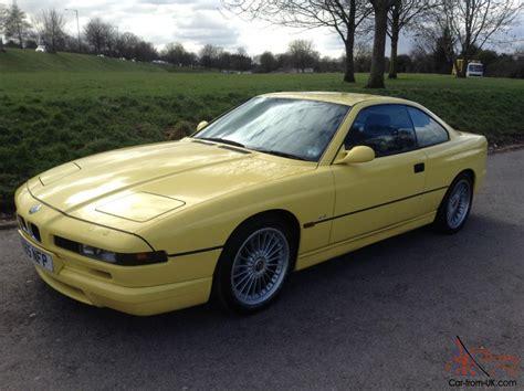1997 Bmw 840 Ci Sport Individual Auto Yellow