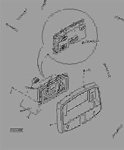 Instrument Cluster - Tractor John Deere 5105