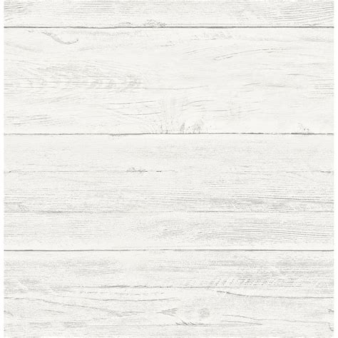 Shiplap Wallpaper by Brewster White Washed Boards Shiplap Wallpaper 2701