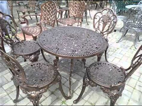 Cast Iron Garden Furniture I Cast Iron Metal Garden