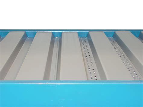 corrugated metal decking pallet rack solid decking