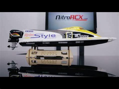 Nitrorcx Boats by New Exceed Formula 1 Electric Racing Boat Overview