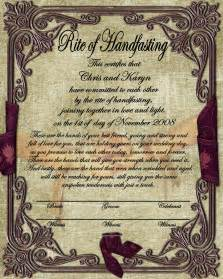 celtic wedding invitations design a handfasting certificate 2 digital scrapbooking