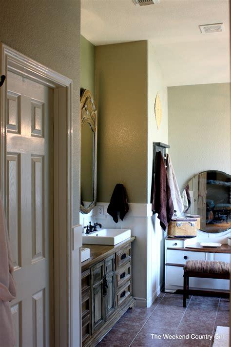 remodelaholic rustic bathroom makeover  board
