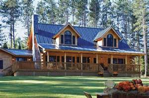 Vermont Log Home Plans