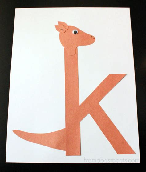 letter k crafts preschool alphabet book lowercase letter k from abcs to 79023