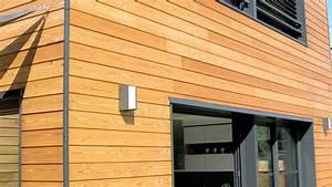 bardage naturel meleze pour un habillage exterieur bois With photo bardage bois exterieur