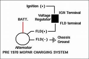 Electronic Voltage Regulator Conversion
