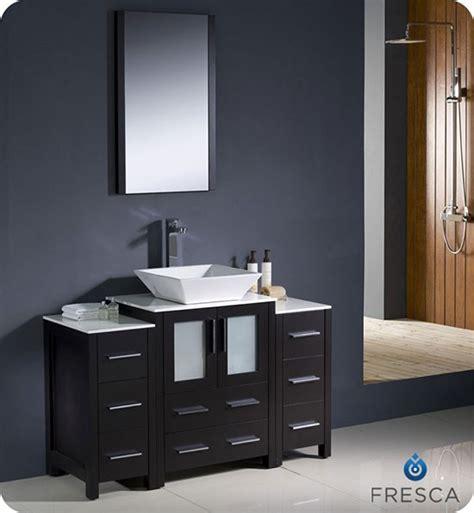 kitchen espresso cabinets fresca torino single 48 inch modern bathroom vanity 1599