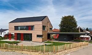 Haus Satteldach 30 Grad : wohnhaus vogel holzbau schwarzwald ~ Lizthompson.info Haus und Dekorationen