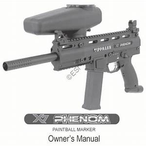 Tippmann X7 Phenom Gun Manual