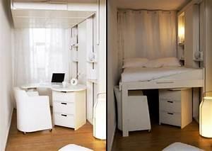 Lit mezzanine adulte pour l39amenagement du petit appartement for Meuble pour studio petite surface 14 lit mezzanine adulte pour lamenagement du petit appartement