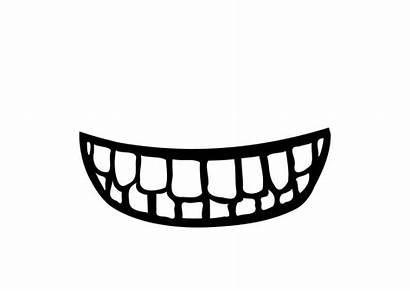 Boca Bocca Bouche Disegno Mond Colorear Denti