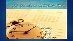 Project Report On Online Examination System