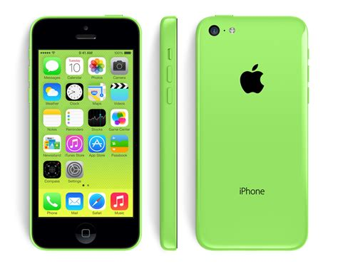 apple iphone 5c 8gb 4g lte green smart phone att