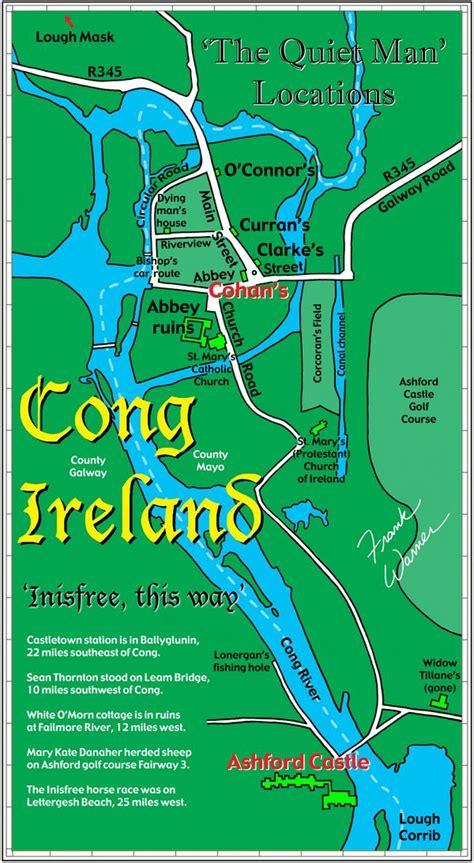 frank warner map  cong ireland  inisfree
