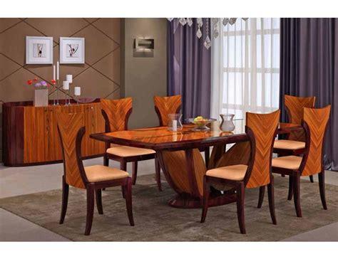 32584 furniture los angeles graceful primrose italian modern dining table set