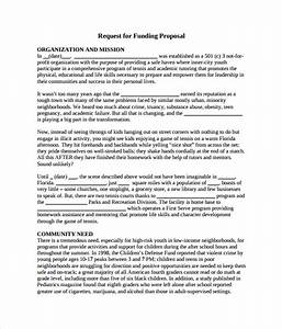 sample funding proposal 6 documents in pdf word With proposal template for funding request