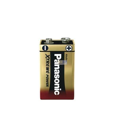 9 volt block batterie 9 volt block 6lr61ppg panasonic onlineshop