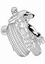 Spider Ultimate Man Coloring Pages Spiderman Fun sketch template