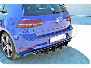 Golf 7 R Line : vw golf 7 r facelift racer rear bumper extension ~ Medecine-chirurgie-esthetiques.com Avis de Voitures
