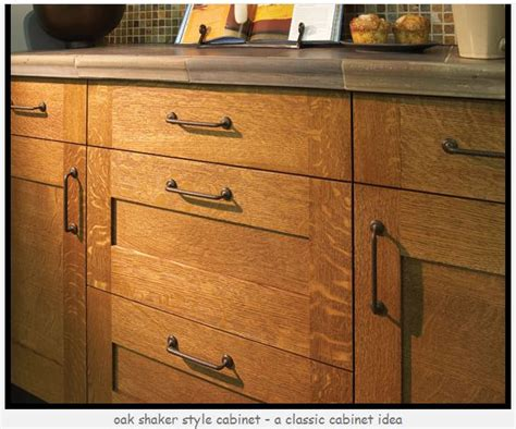 refacing cabinets shaker style white oak kitchen cabines what to put with quarter sawn
