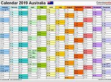 20182019 Australian Financial Year Calendar – 2018