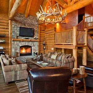 hunting cabin interior For the Home Pinterest