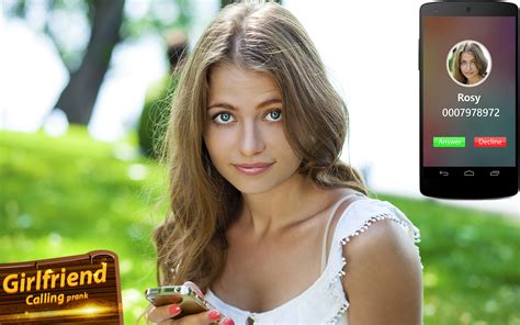 Sexy Girl Friend Calling Prank Android Apps On Google Play